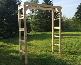 Large Cedar Wedding Arch