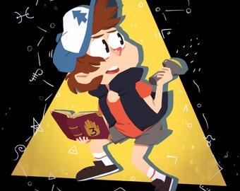 Gravity Falls: Dipper Print