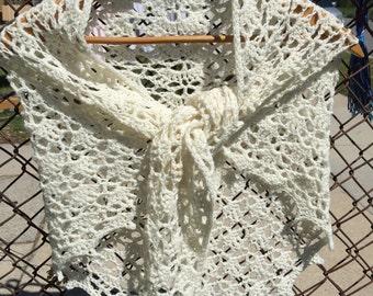 Crochet Shell Shawl