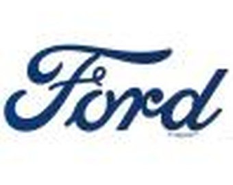 Ford Logo Blue Graphic on White or Gray T Shirt Mens Car T Shirt Free Shipping  12614E2