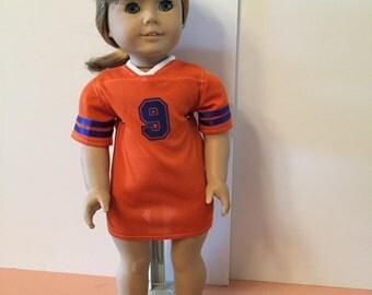Doll clothes: American Girl team nightshirt Gators or Mets