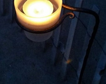 Outdoor candle stake