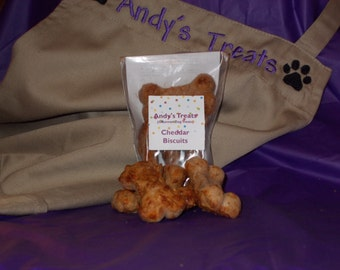 Gourmet Dog Treats - Cheddar Biscuits