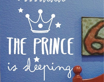 Children's vinyl The Prince is sleeping