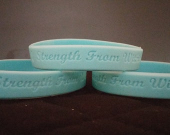 Strength From Within Prostate Cancer Bracelet