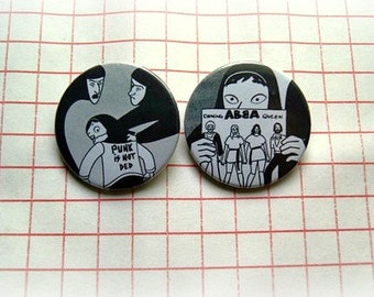 Persepolis - pinback button or magnet 1.5 Inch
