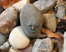 Feldspar Shingle (Ancient Riverbed Pebble character) / Quirky handmade art piece / Fantasy Sculpture/collectable/ Decorative character