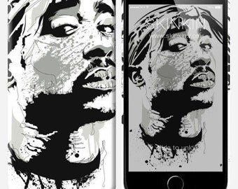 iPhone case - Tupac by Besss