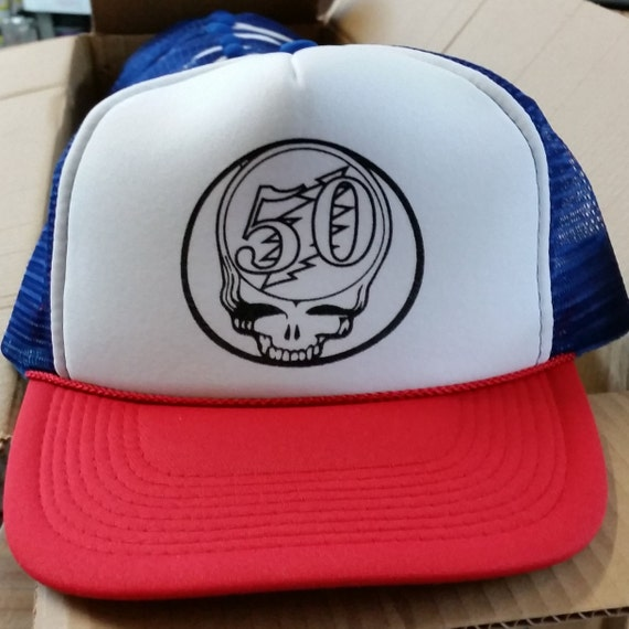 Items Similar To Grateful Dead 50th Anniversary Stealie