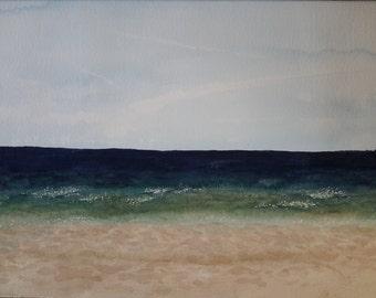 Original Watercolor- Playa Serena
