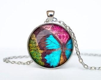 Butterfly necklace butterfly pendant butterfly jewelry