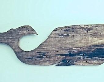 Barn Wood Whale