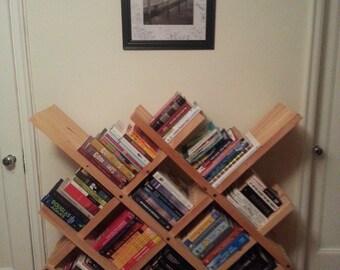 Crosshatch Bookshelf