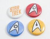 """Star Trek 1"""" Pin Set"""