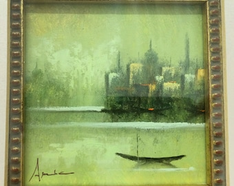 Original Palette Knife Painting by Amedeo Alzeni (1)