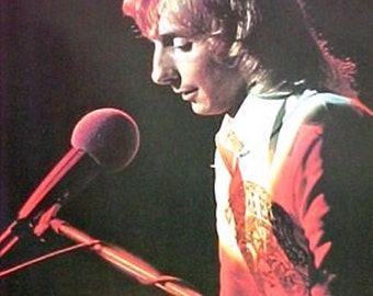 Vintage 1970s~BARRY MANILOW~ Pop Dream MANDY Poster