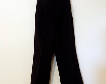 70s Vintage Women's High Waisted Naval Pants