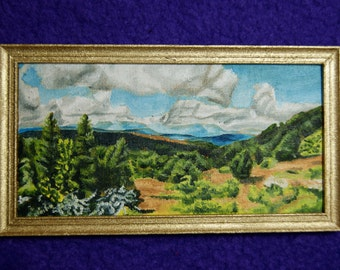 Miniature Painting - Around Tarn Hows
