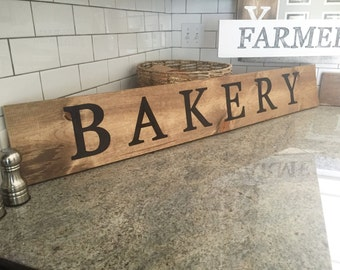 Bakery Sign avail in vertical or horizontal