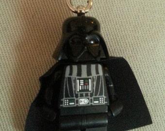 Darth Vader Necklace - (LEGO® Minifigure) - Star Wars, Anakin Skywalker, The Dark Side, Return of the Jedi, The Force Awakens