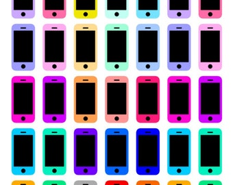 Phone stickers (Erin Condren planner stickers)