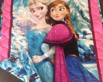 Frozen Sister's Baby Quilt