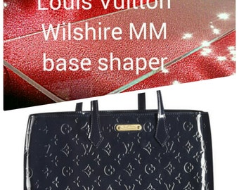 Base Shaper for Louis Vuitton Wilshire MM. The hand bag is not for sale !