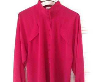SALE Vintage Blouse in Pink