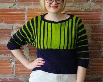 Koval Sweater Pullover Knitting Pattern