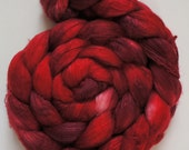 Really Red handpainted optim merino/silk 101g/3.5oz