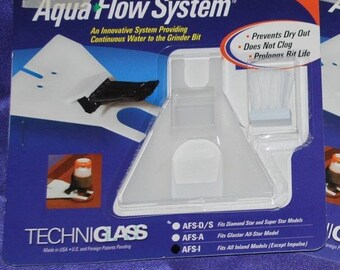 Aqua Flow System for Inland Glass Grinders - Replaces Sponge for Continuous Water Flow and Cleaning