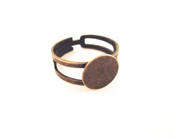 10mm brass ring blanks, pick your amount