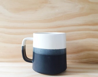 The Danish Mug in Black + White (MADE TO ORDER)