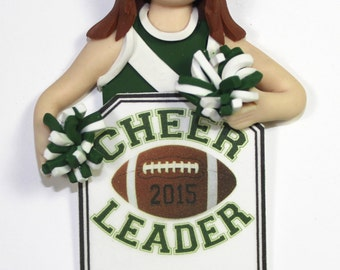 Cheerleader Bust Ornament