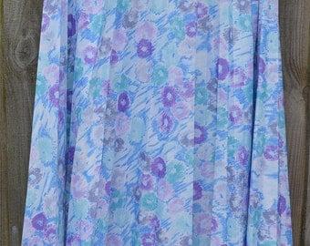 Size 18 Vintage Floral Skirt