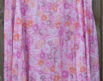 Size 18 20 Vintage Floral Skirt