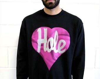 Hole Sweatshirt - Black