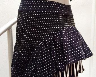 SMALL Bustle Mini Skirt