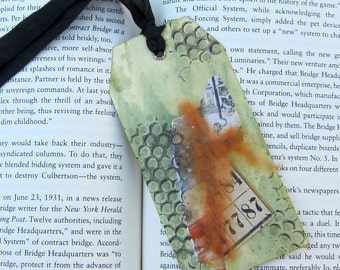Mixed Media Collage  Bookmark PSS 2521