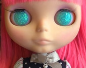 Blythe Resin Eye Chips - Ice Blue Translucent