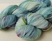 Hand Dyed Sock Yarn - Merino & Silk - Fingering Weight - Gleam - Amsterdam
