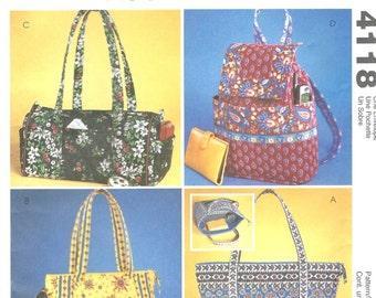 McCall's 4118 Handbags - PATTERN