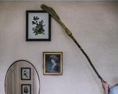 Cobweb Broom / Small Ritual Besom - Natural Color