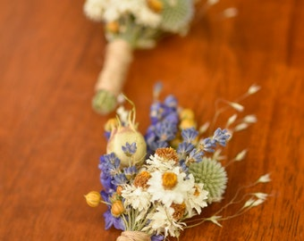Purple wildflowers boutonniere, spring boutonniere, lavender boutonniere,  spring wedding, summer wedding, summer bouutonniere, wildflowers