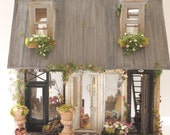 Layaway Reserved For Marniec8319 Un Immeuble a Paris Custom Furnished Lighted  Dollhouse