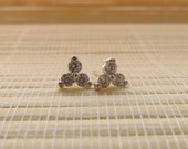 Cubic Zirconia Cluster Stud Earrings for MichelleTonkin