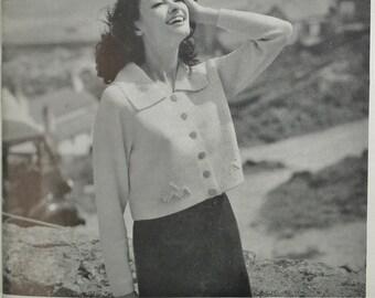 "Vintage Knitting Patterns Book 1960s ""Sirdar Sophisticates"" No. 2 womens mens garments - sweaters cardigans dresses 60s original patterns"