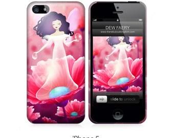 Phone Case - Dew Faery - iPhone 5 - iPhone 6 - Samsung Galaxy