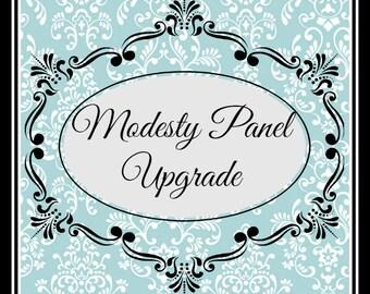 Modesty Panel Upgrade