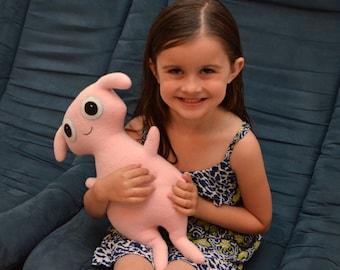 Custom Plush Monster Stuffed Animal - Baahbette